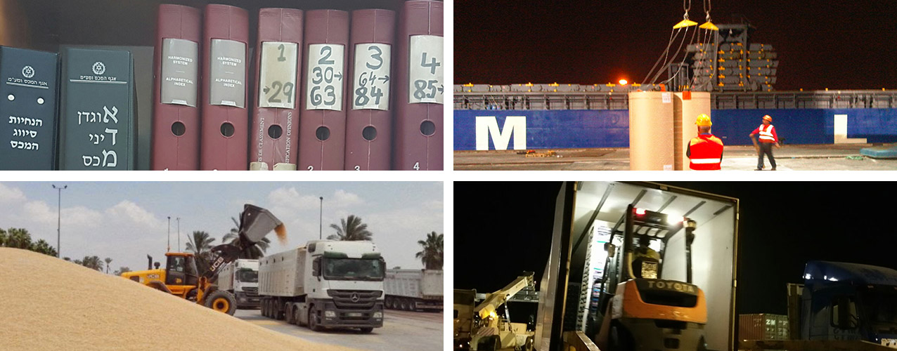Ocean freight department and our Arabic desk successfully handles another Out Of Gauge transportation from origin to door Palestinian authorities